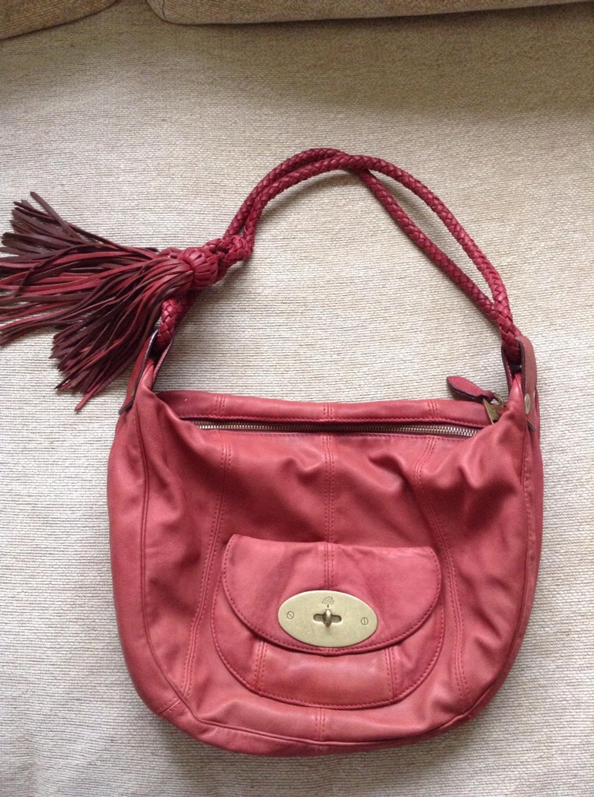 3bbff1e2ad Mulberry araline raspberry leather bag in M27 Clifton for £100.00 ...