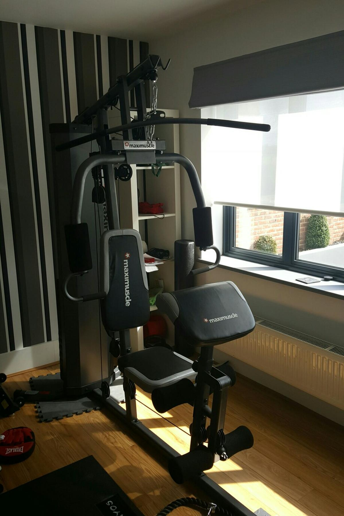 Maximuscle home multi gym with instructions in da hone for