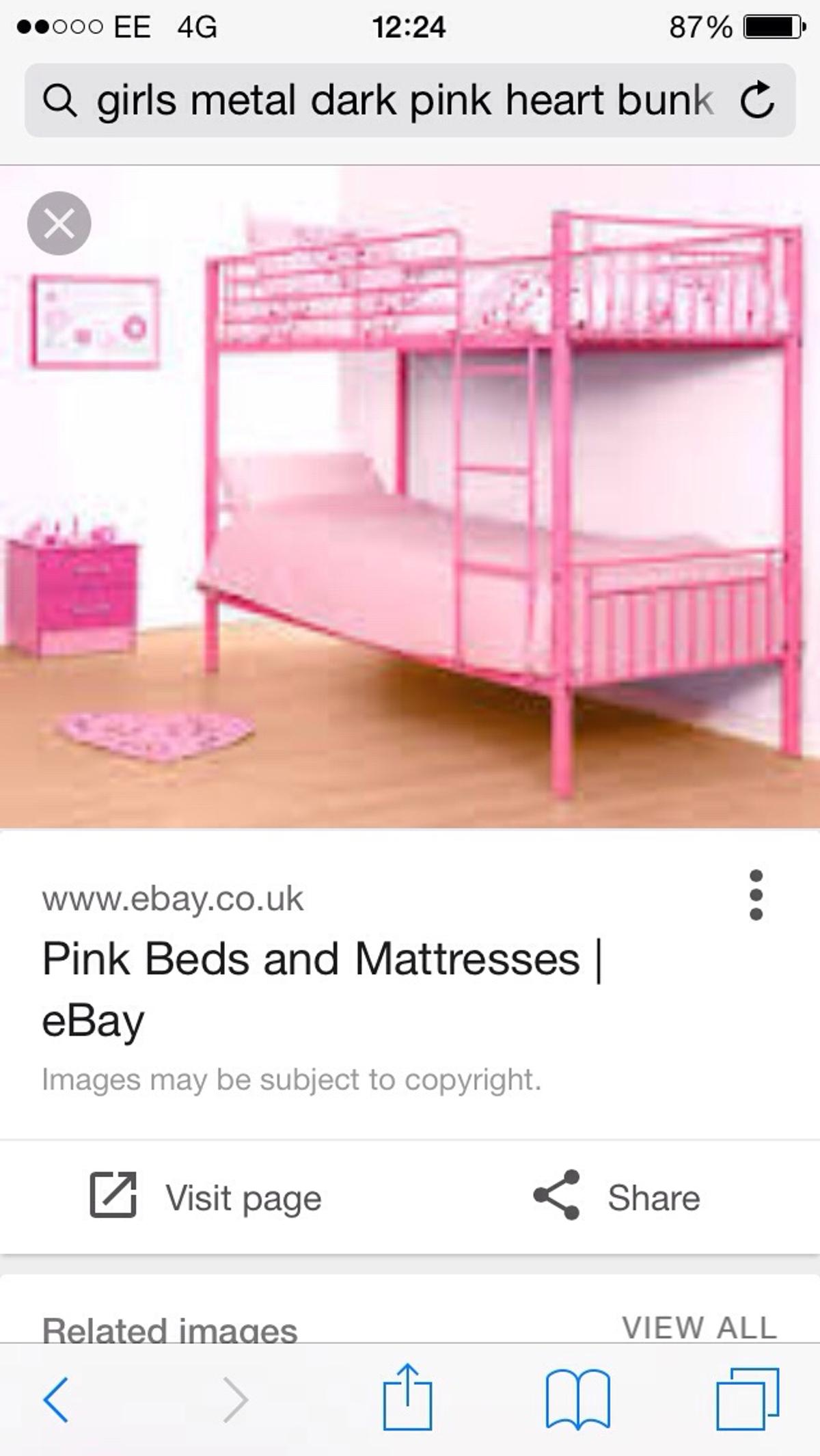 Girls Bunk Beds In Tf7 Madeley For 20 00 For Sale Shpock