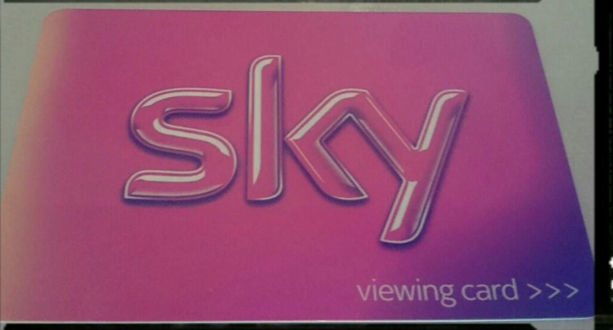 Sky Viewing card