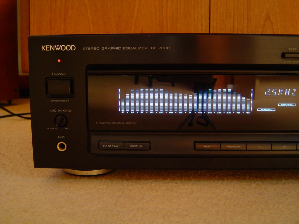 KENWOOD GE 7030 GRAPHIC EQUALIZER in TN34 Hastings for £35 00 for