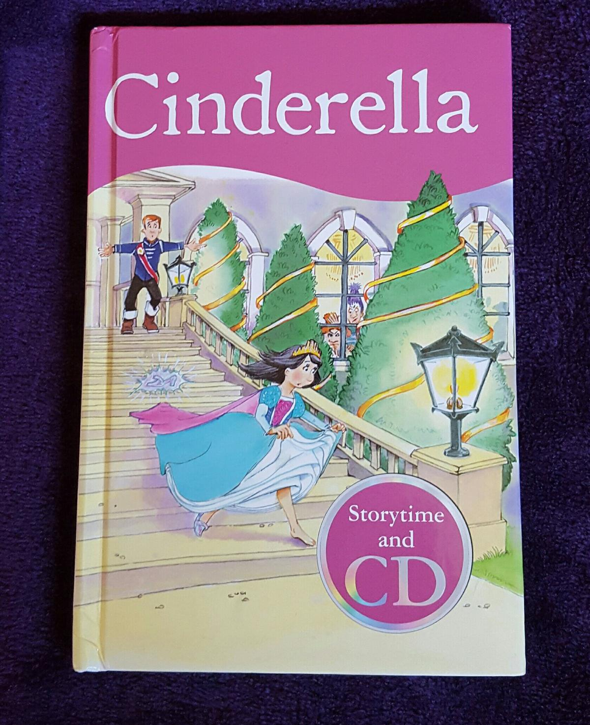 Cinderella Story book with CD