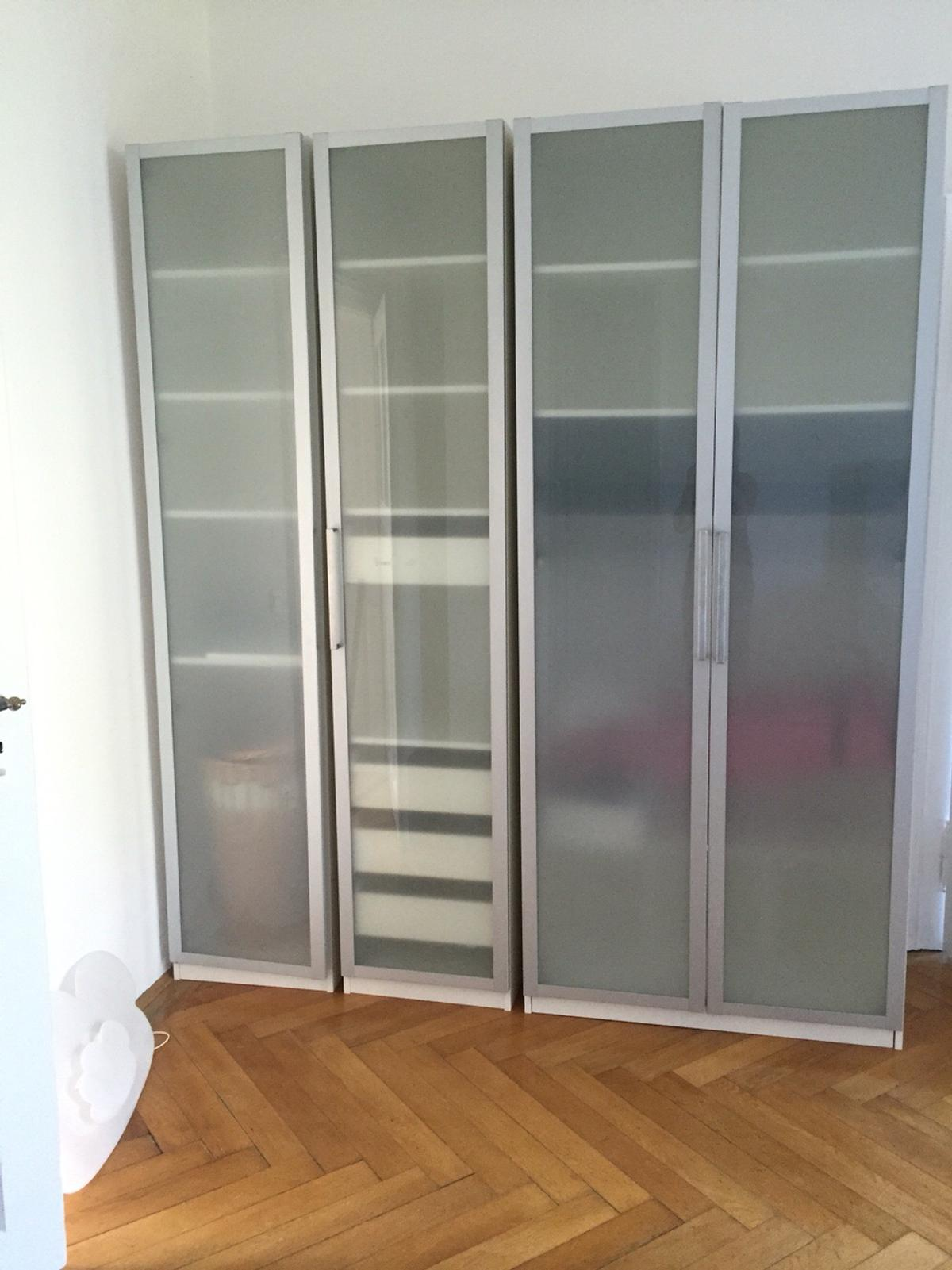 4 Ikea Pax Milchglas Turen 236 X 50 In 81737 Munchen For 120 00