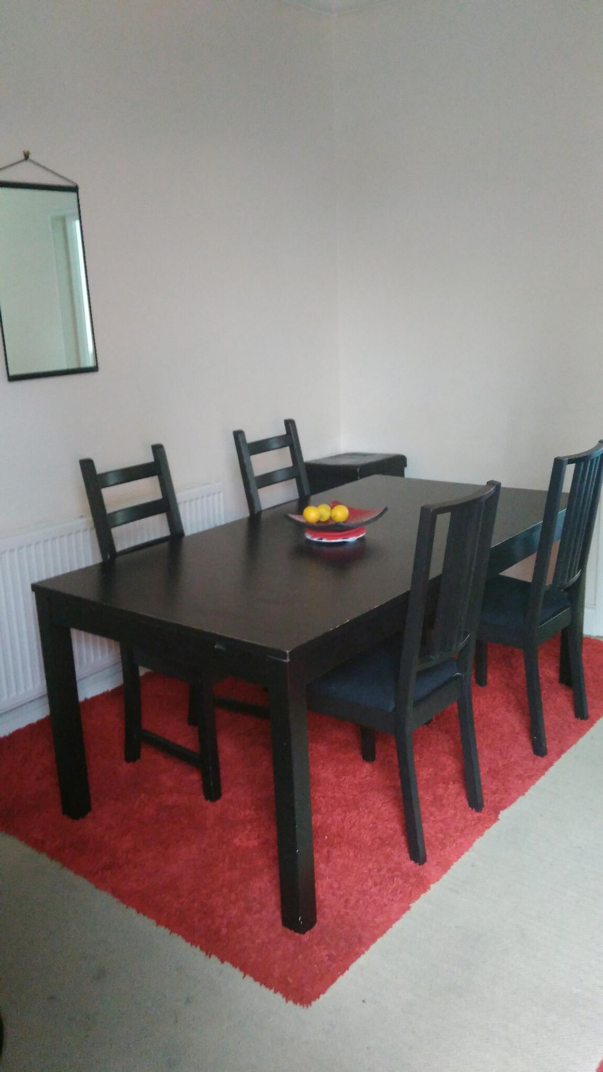 Ikea Bjursta Extendable Table 4 Chairs In Se13 London For 80 00 For Sale Shpock