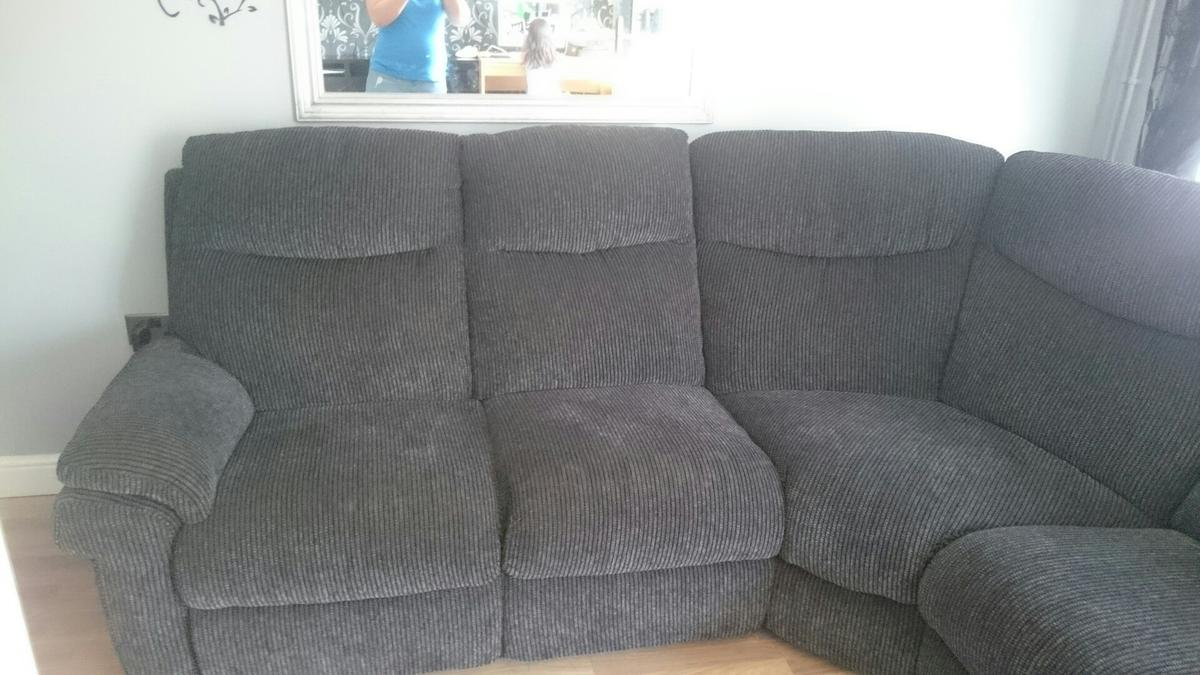 Magnificent Lazy Boy Grey Corner Sofa Ocoug Best Dining Table And Chair Ideas Images Ocougorg