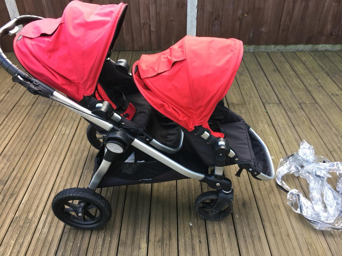 Baby Jogger City Select Red With Two Seats