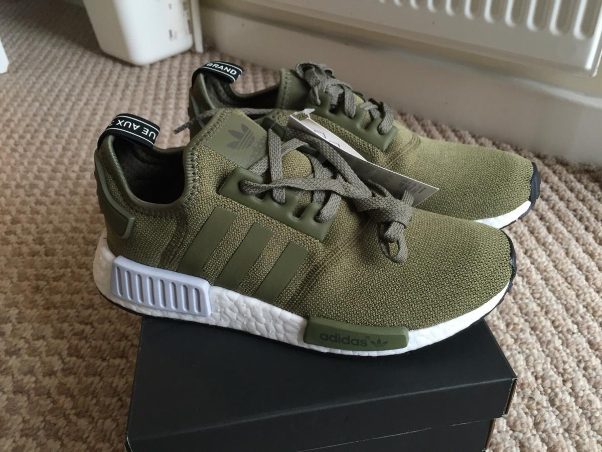 Adidas NMD R1 Olive Cargo Green UK 6.5 in UB5 Northolt for