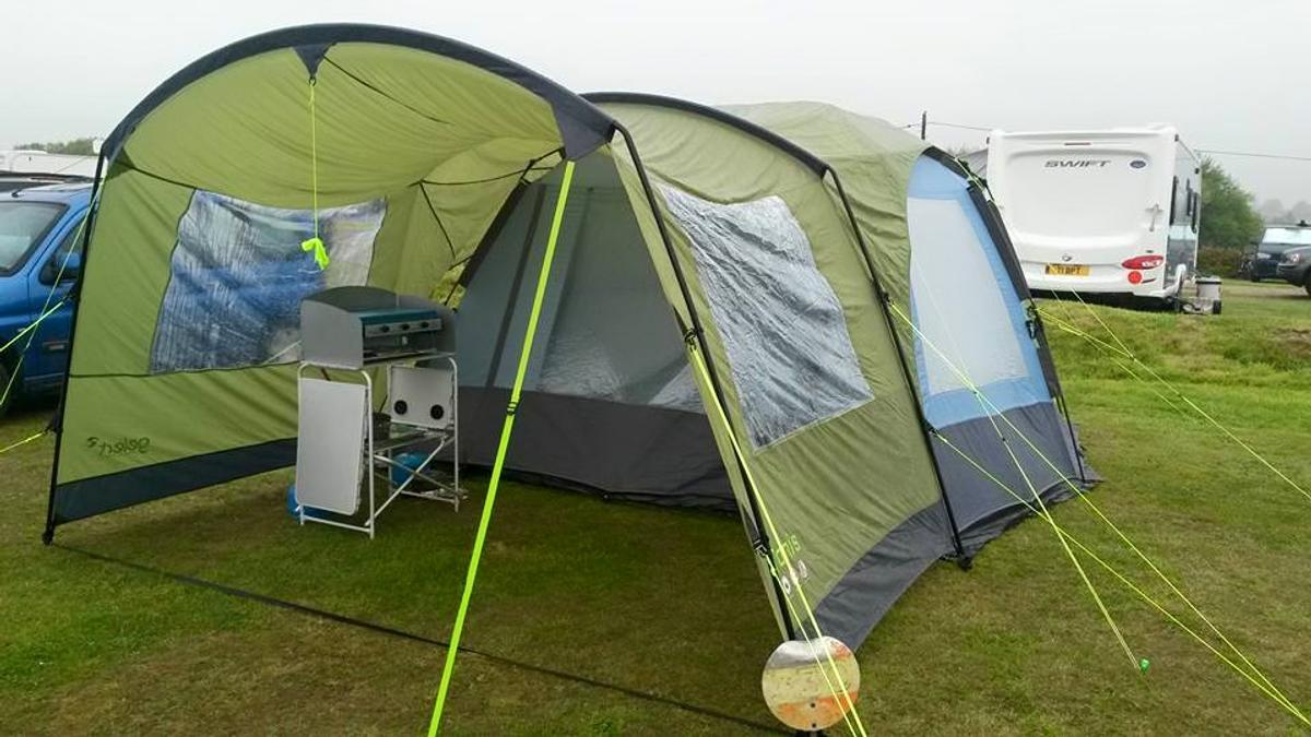 wholesale dealer 67080 ab018 Camping Gelert Tanis Canopy - Tent add-on
