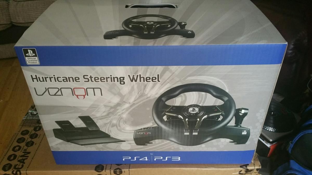 7b273d4563a Ps4 Steering Wheel in RG17 Lambourn for £40.00 for sale - Shpock