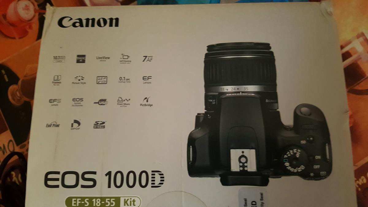 Canon eos 1000D in SL2 Slough for £150 00 for sale - Shpock