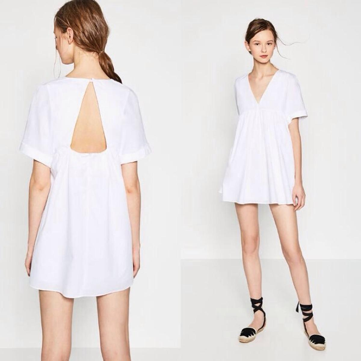 51f106a0692a37 Zara TRF Poplin Jumpsuit Blogger Dress XS in SW17 London for £45.00 for  sale - Shpock