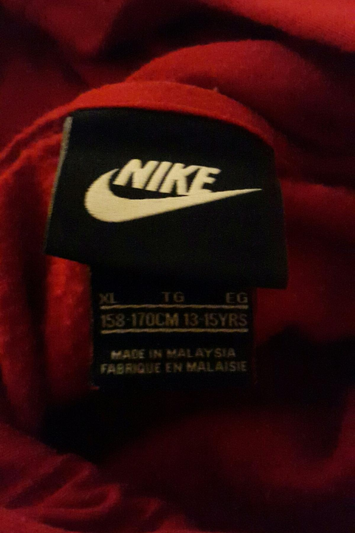 buy online 8e2c5 fd083 ROTER NIKE PULLOVER/HOODIE