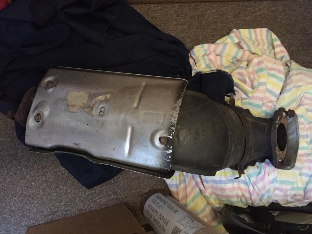 Ford Focus Mk1 ST170 Catalytic Converter in NR30 Yarmouth