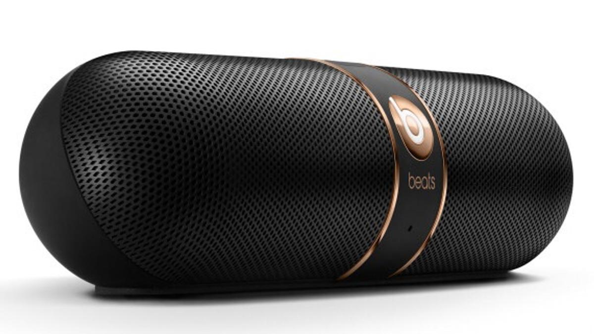 Dr Dre beats pill rose gold in black