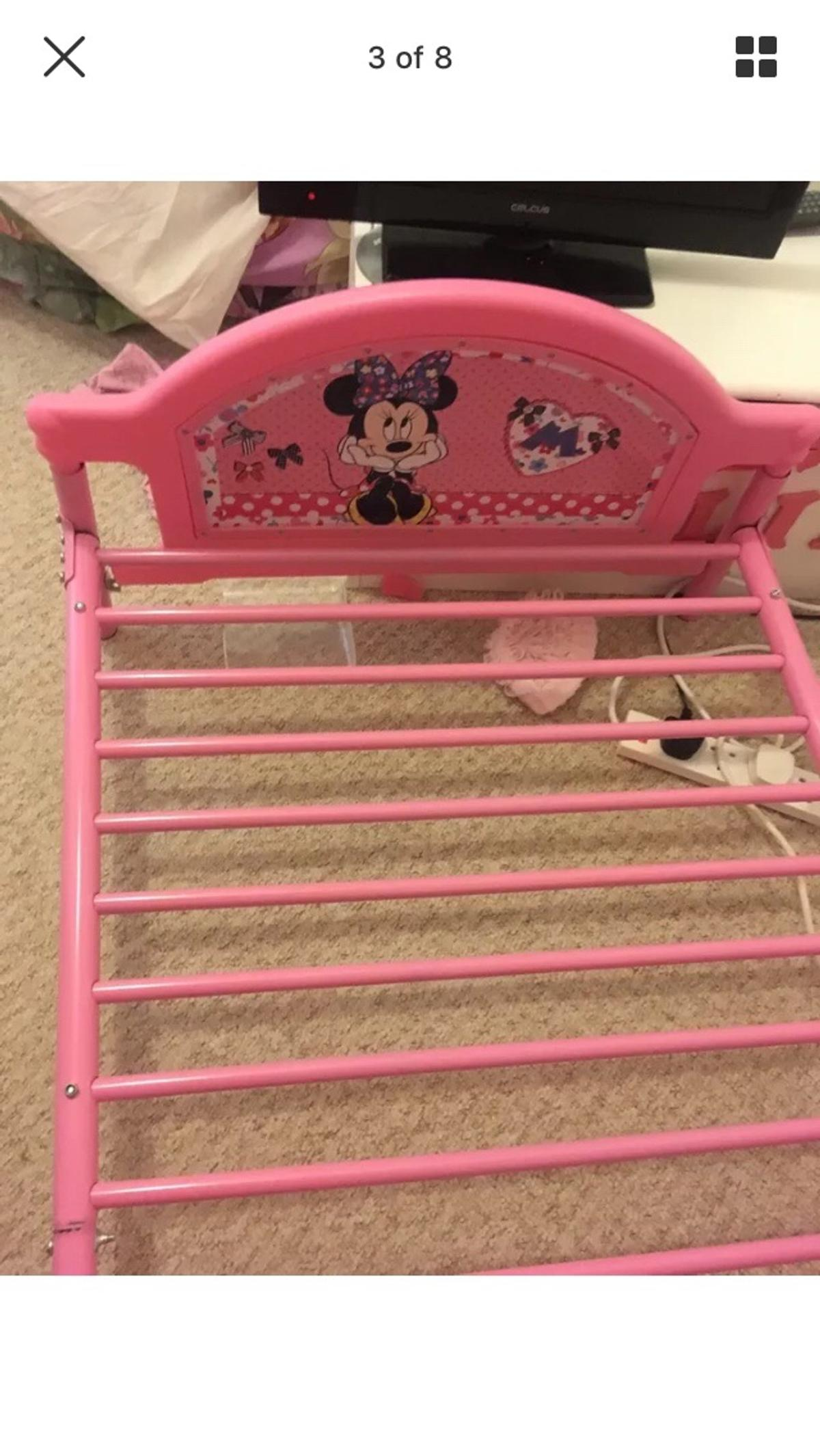 Minnie Mouse bed curtains and mat in DA8 Erith for £35.00 ...