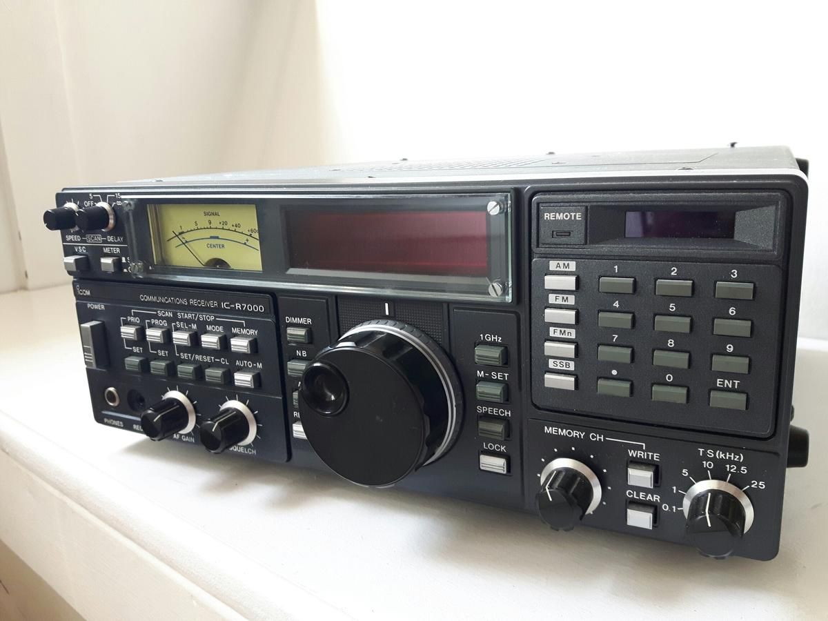 ICOM IC-R7000 communication receiver in SM3 Park for £350 00