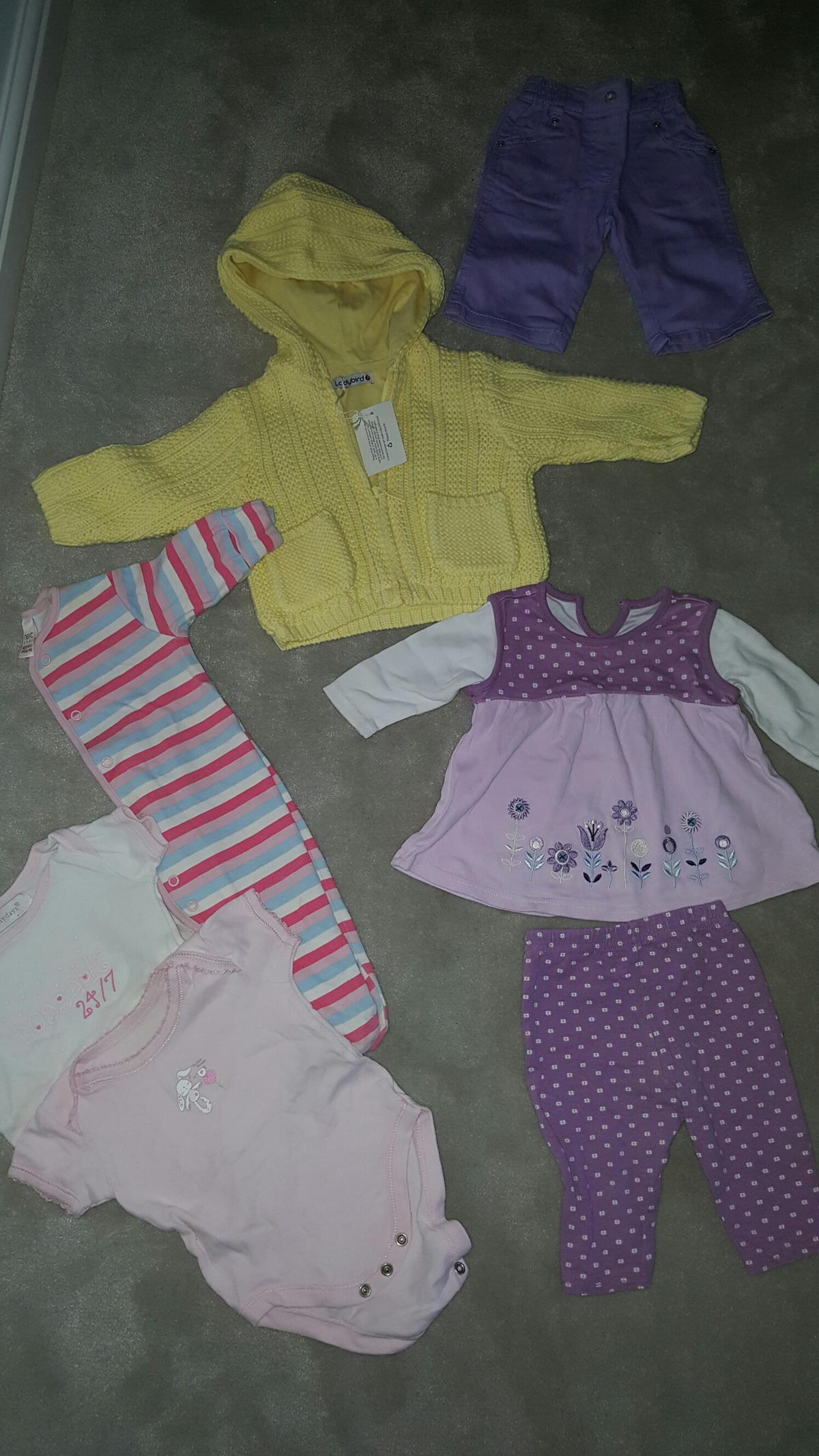 Clothes, Shoes & Accessories Girls 0-3 Months Bundle Girls' Clothing (0-24 Months)