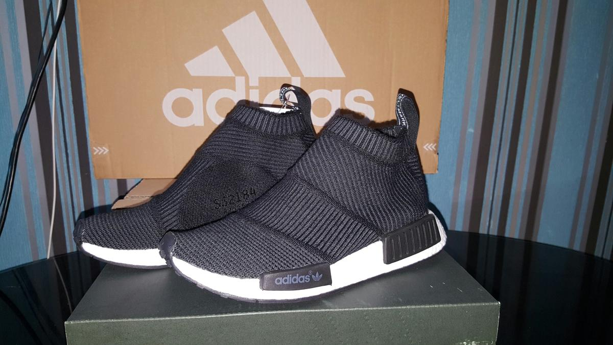 low priced 3d9bb c1ffd Adidas nmd city sock winter wool size 5.5 in LE2 Leicester ...