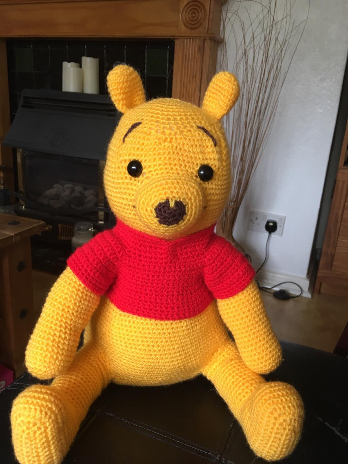 Crochet Large Winnie The Pooh In B14 Birmingham For 1200 For Sale