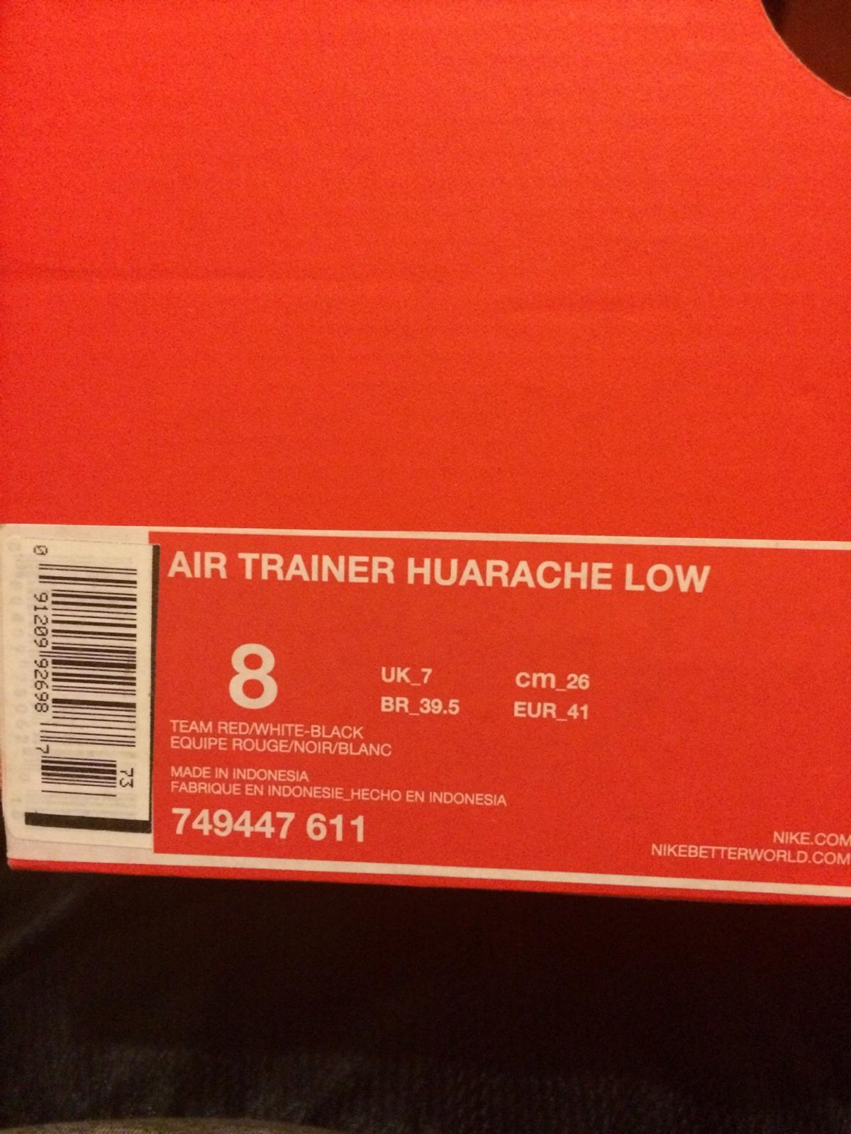 online retailer fd61b 230f2 Nike Air Trainer Huarache Low in SE8 London for £35.00 for sale - Shpock