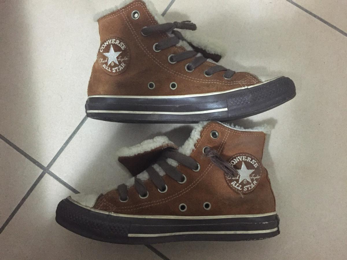 converse all star invernali pelo