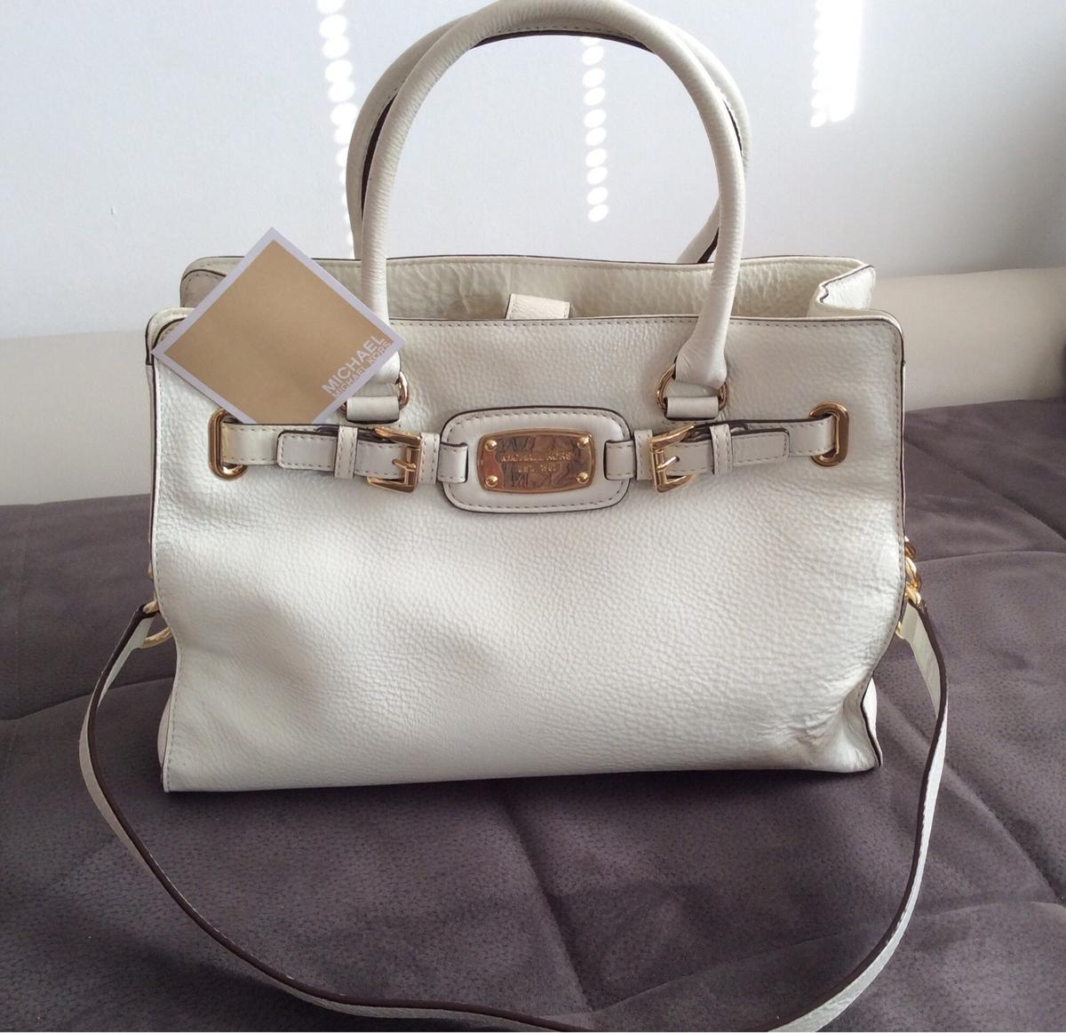 Michael Kors Hamilton Bag hellbeige Gold in 90587