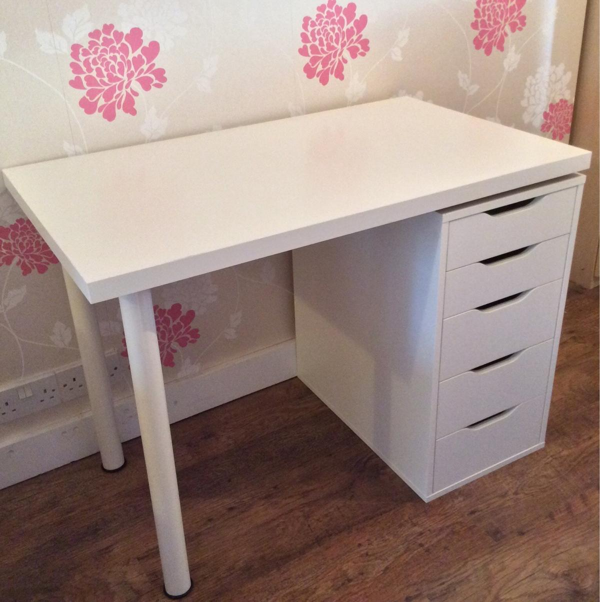Ikea White Desk, Alex Drawers & Gregor Chair in Stockton for £75 00