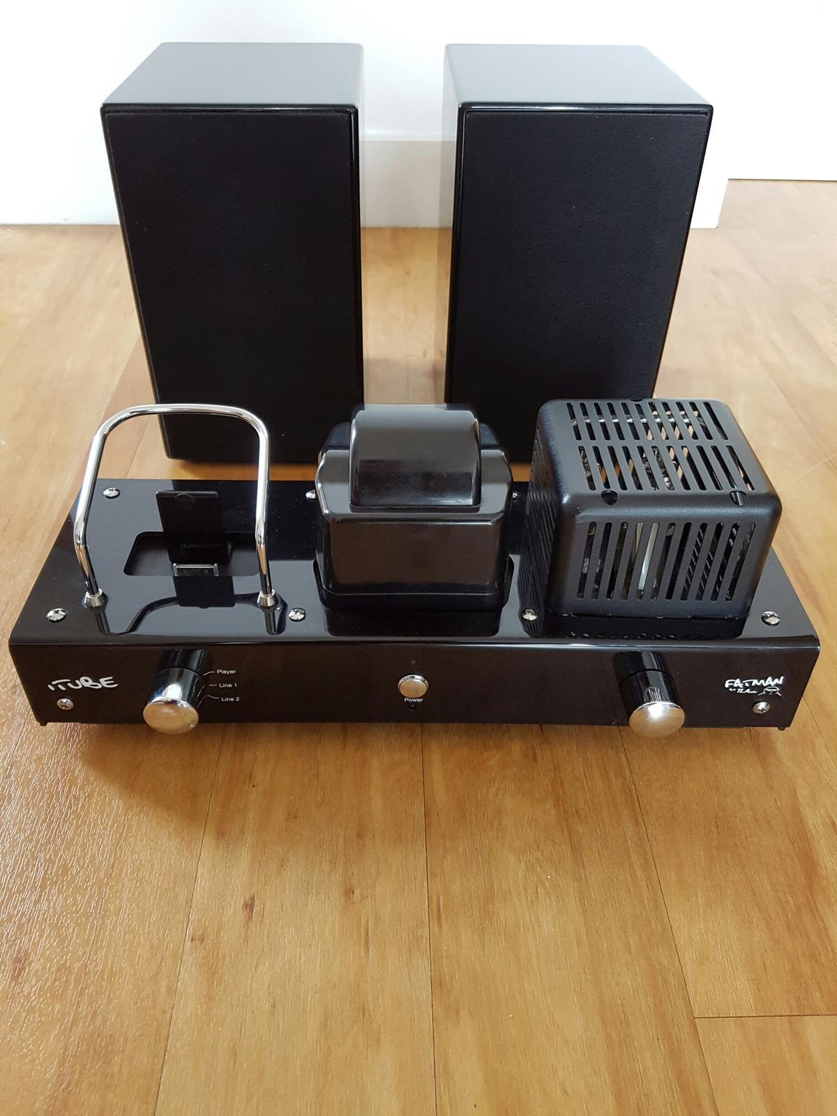 Fatman iTube Carbon Valve Amp With Speakers