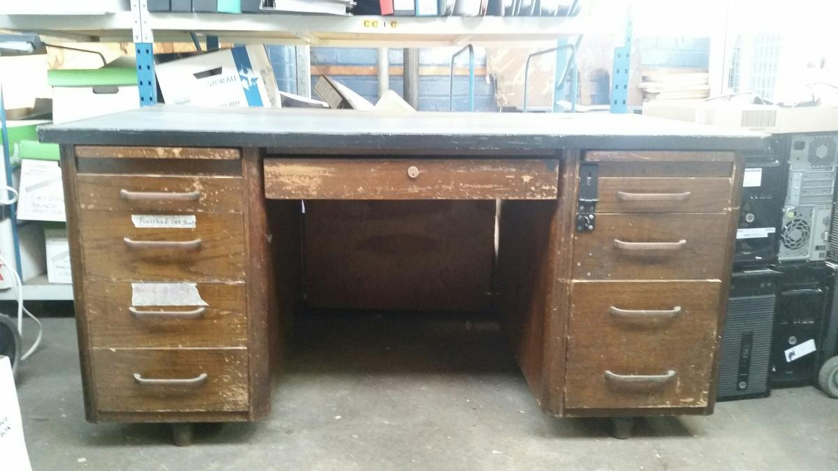 Outstanding Old Solid Wood Desk Home Interior And Landscaping Synyenasavecom