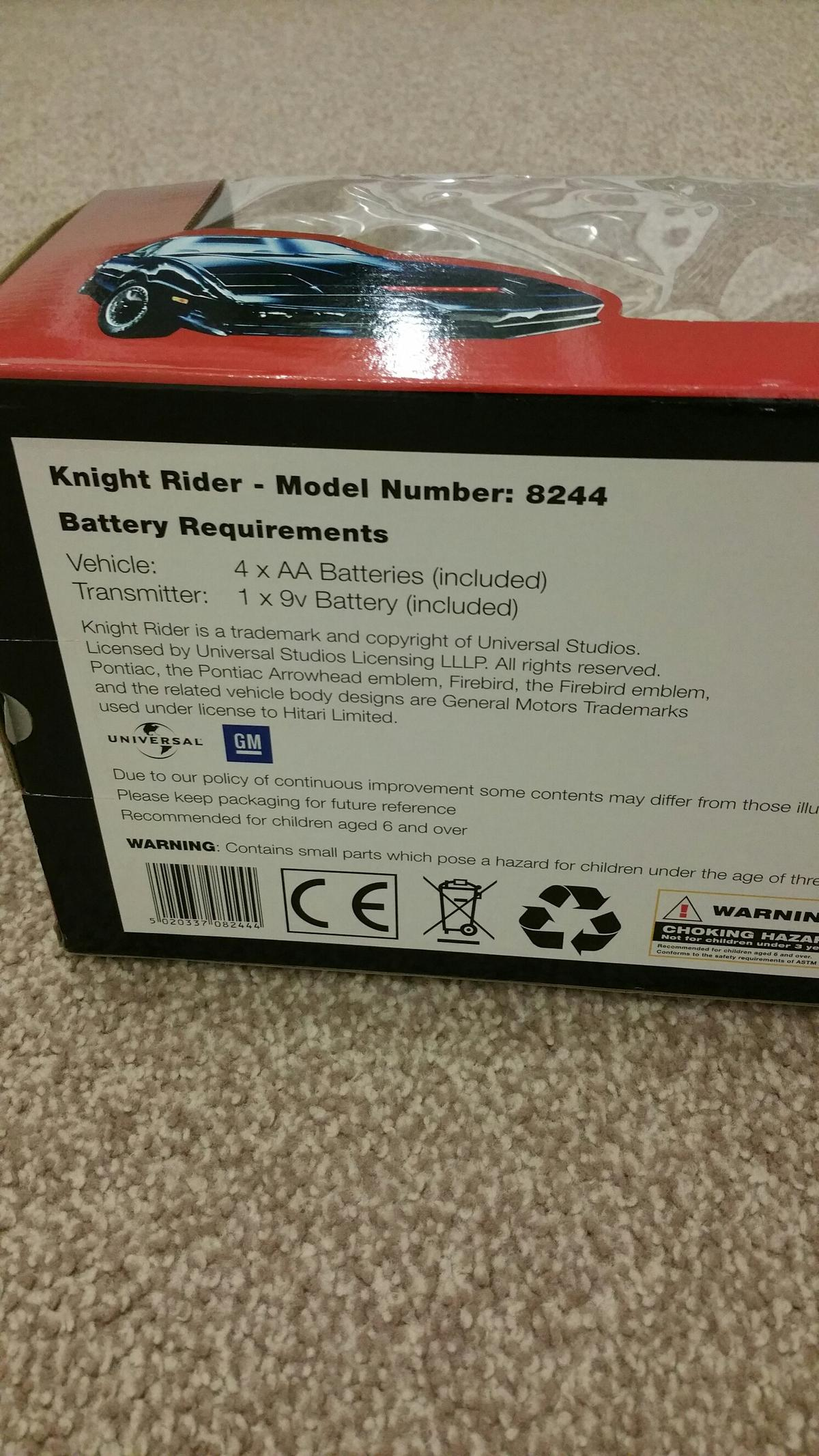 Brand New Hitari Knight Rider Car In Bl3 Bolton For 70 00 For Sale