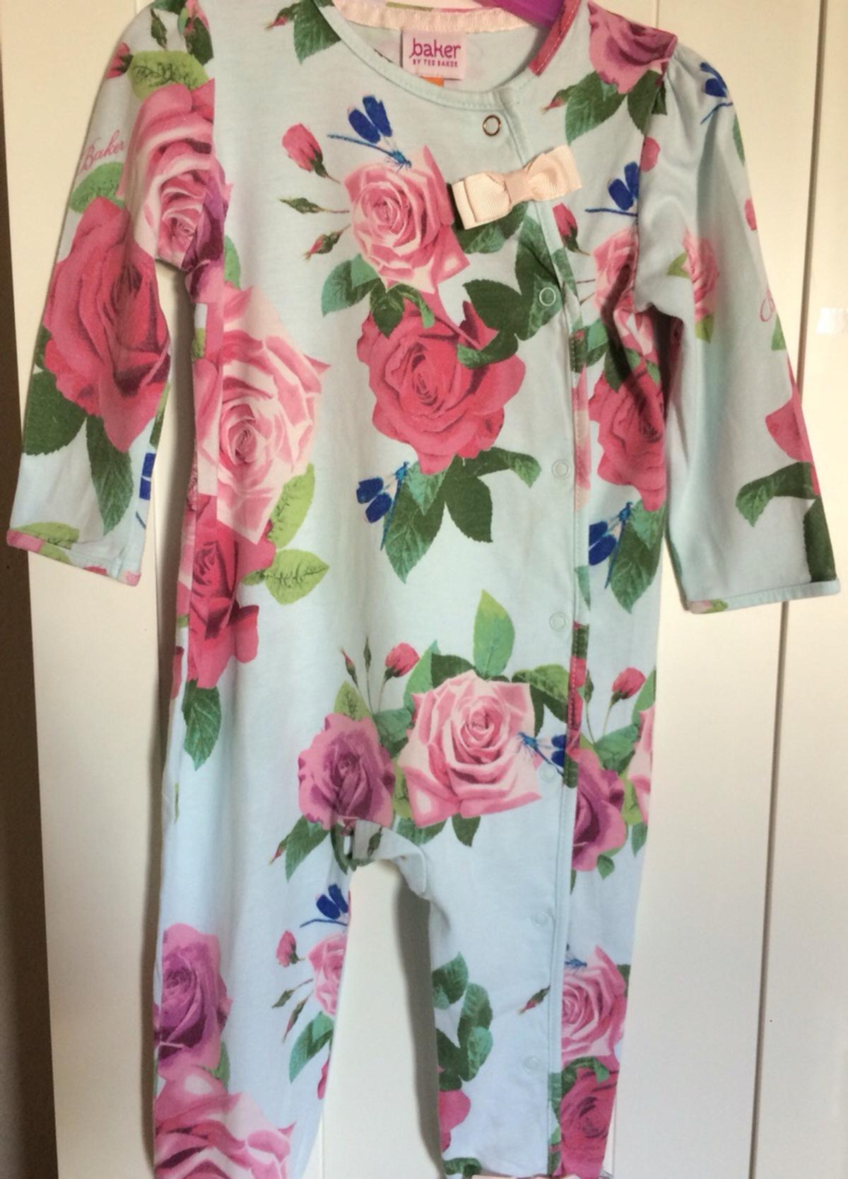 92ff5618c Ted baker blue rose baby girl sleepsuit in CO15-Sea for £25.00 for ...