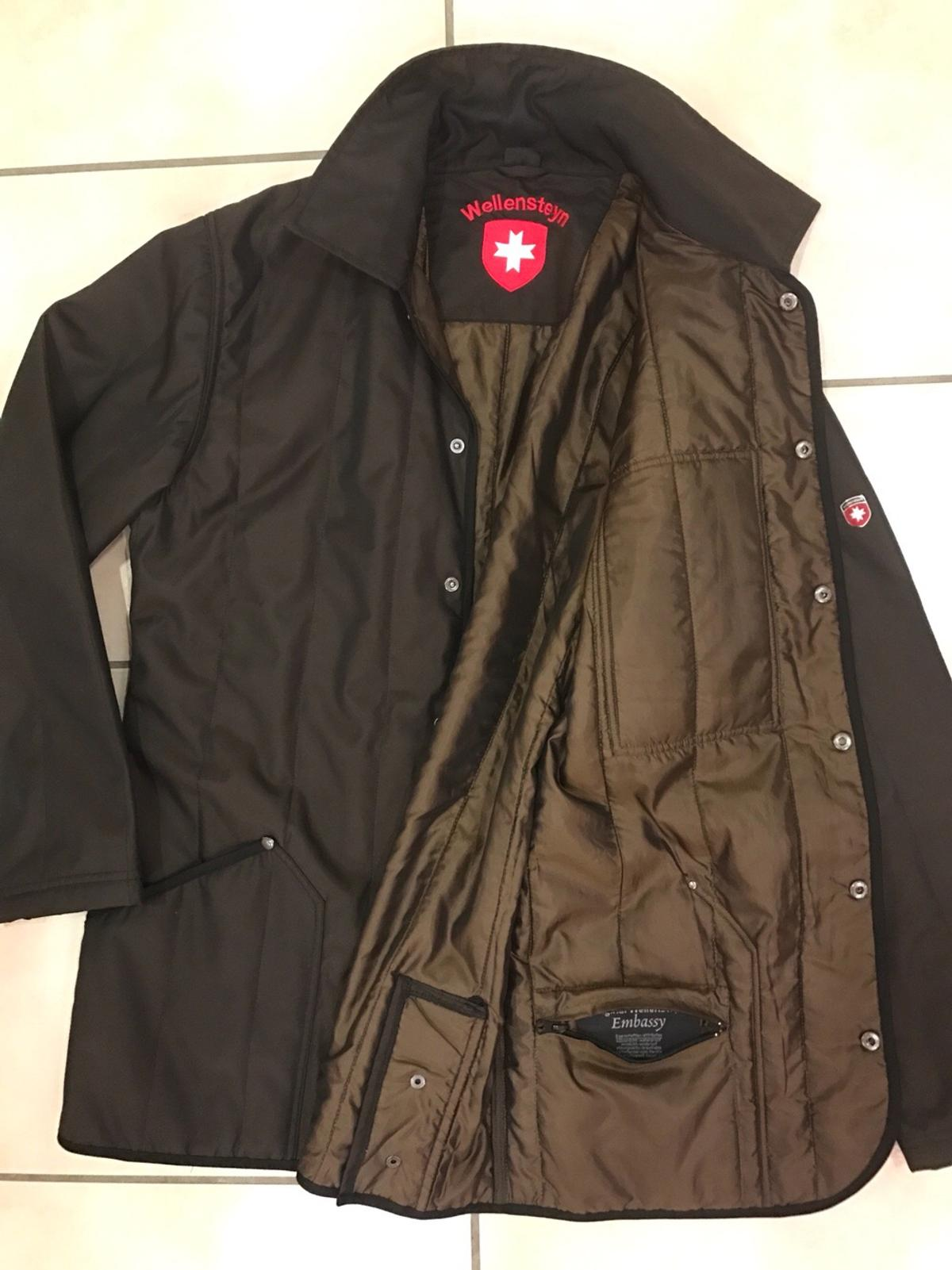 WELLENSTEYN EMBASSY HERREN Jacke Braun Gr. XL Orig TOP #09 7
