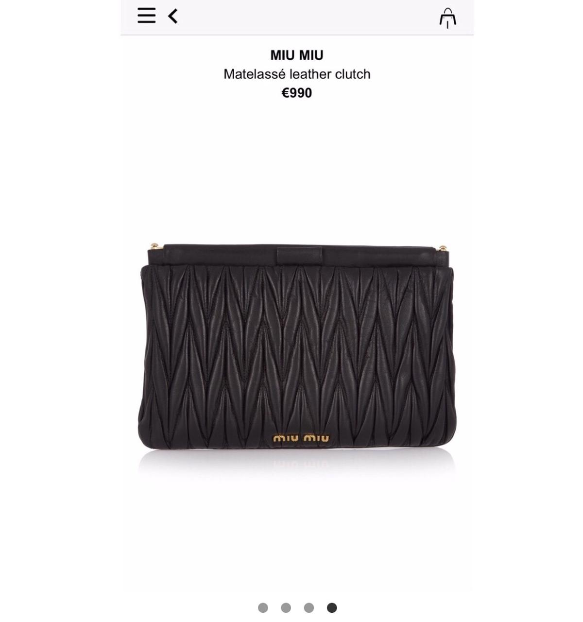 wholesale dealer 19591 08c0d MiuMiu - pochette - SALDI in 37138 Verona für 350,00 ...