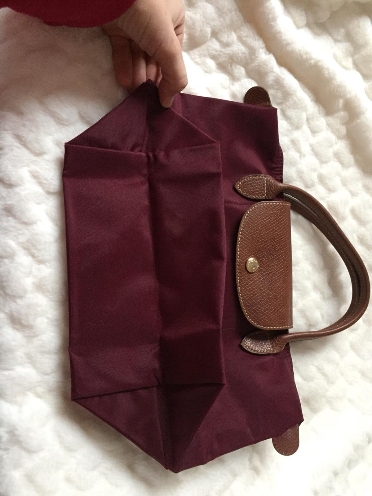 12650fb61e7b3 Wedel 00 For 22880 Tasche Bordeaux €40 Longchamp Le Pliage S Rot In EDH9W2I