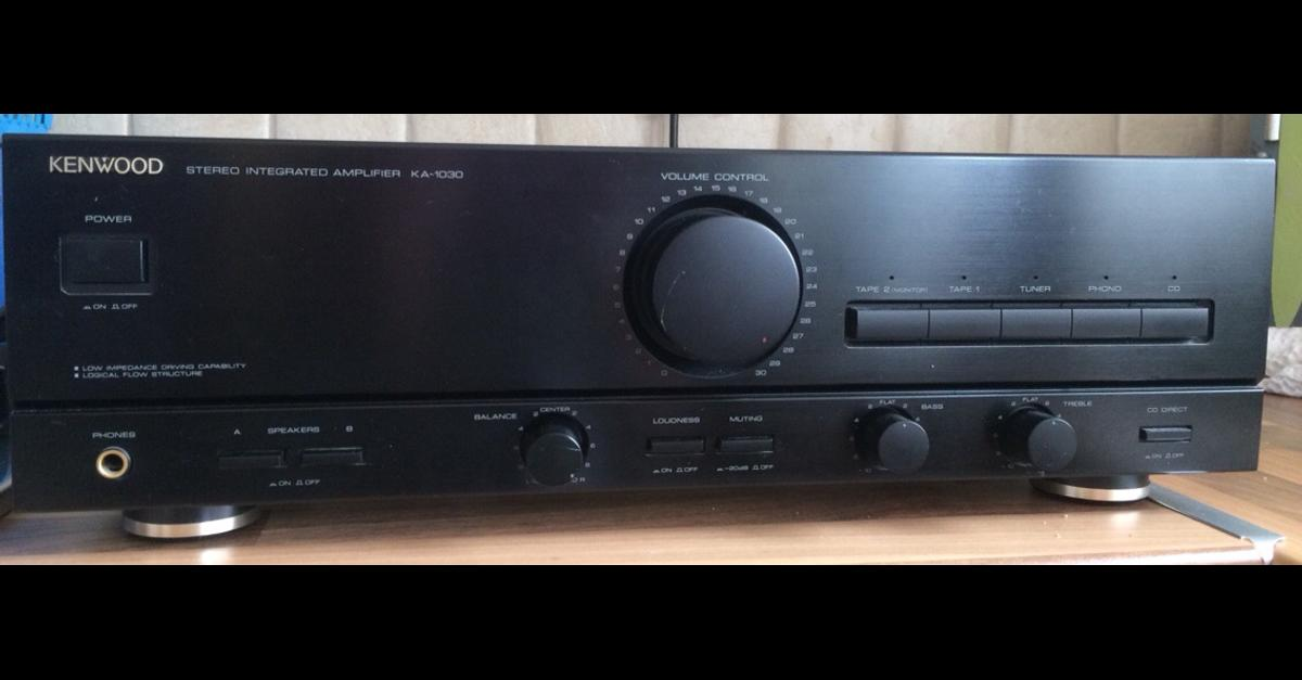 Kenwood KA-1030 Stereo Integrated Amplifier