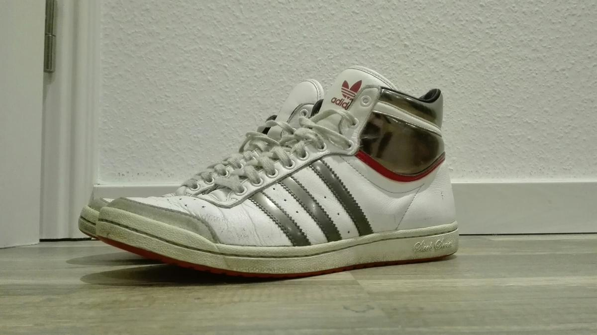 ADIDAS TOP TEN Hi Sneaker Sleek Series weiss Gr. 40