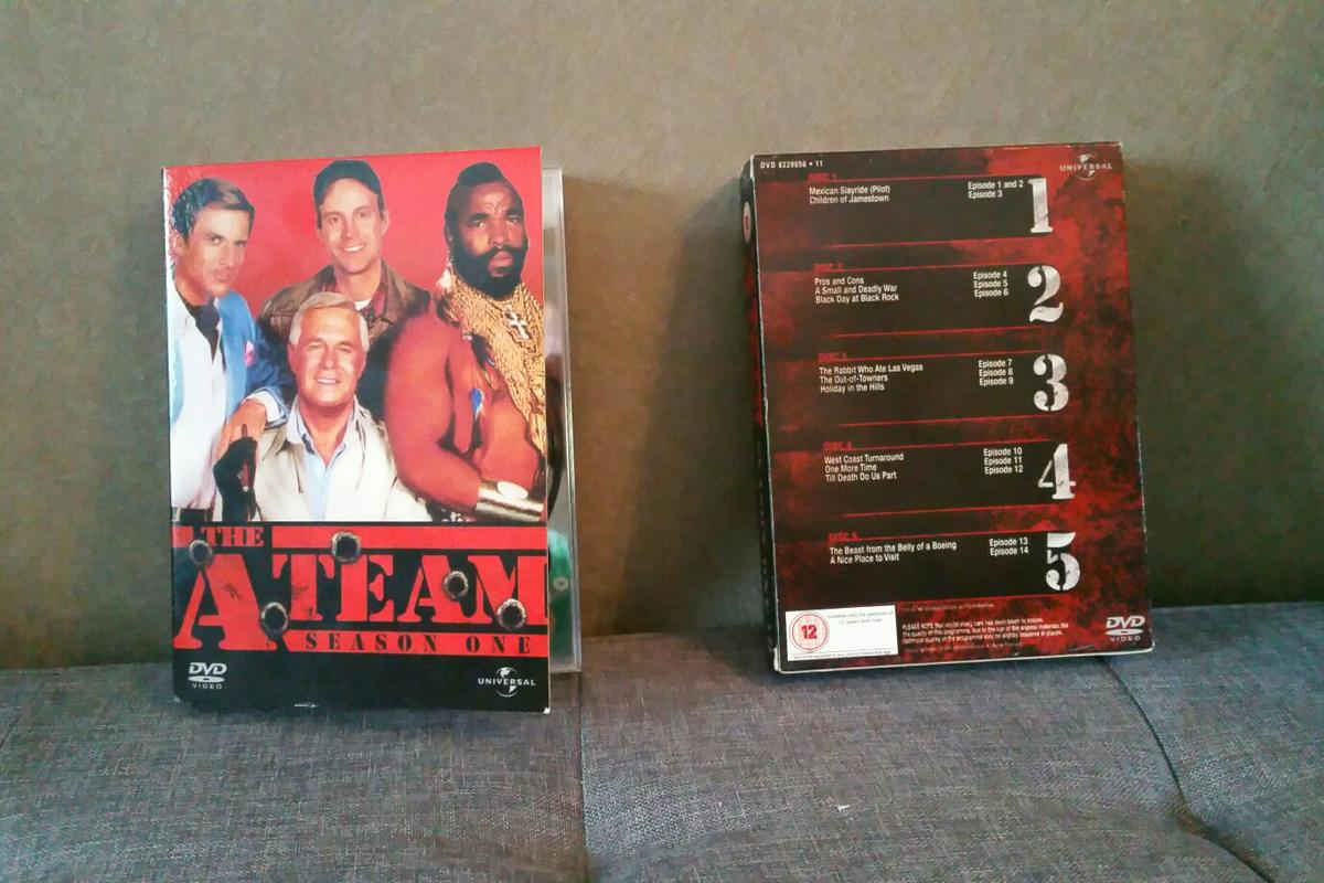 A team dvd box set