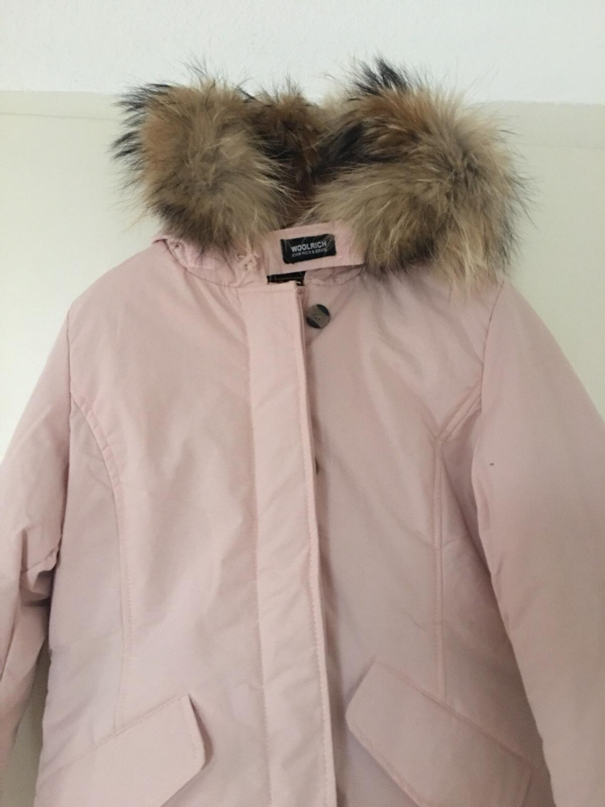official photos 6670e 08992 Woolrich arctic parka S rosa damen winterjack in 92421 ...