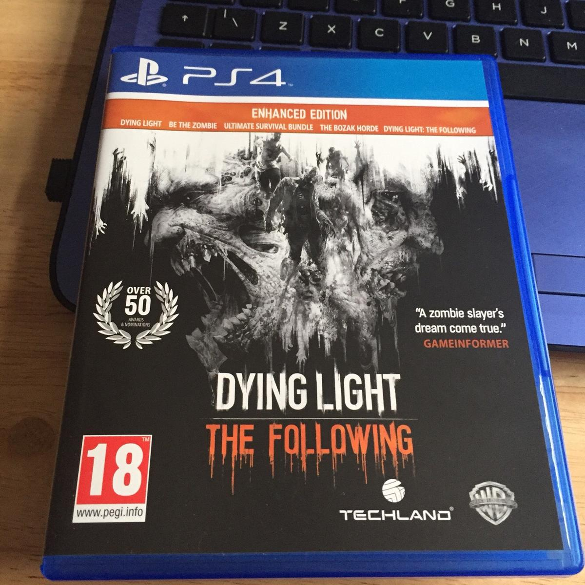Dying Light -Ps4 Game