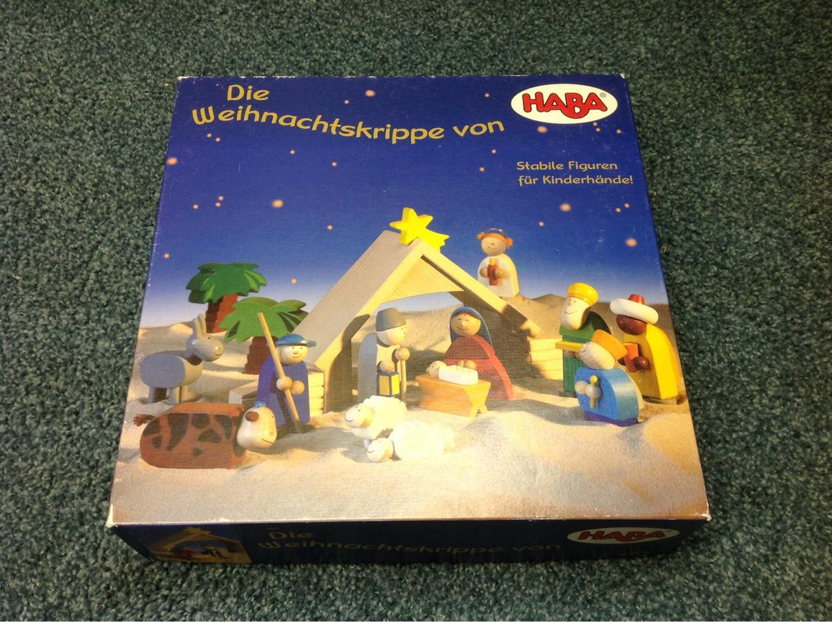 Haba Weihnachtskrippe.Haba Krippen Set 8200 In 54533 Hasborn For 65 00 For Sale Shpock