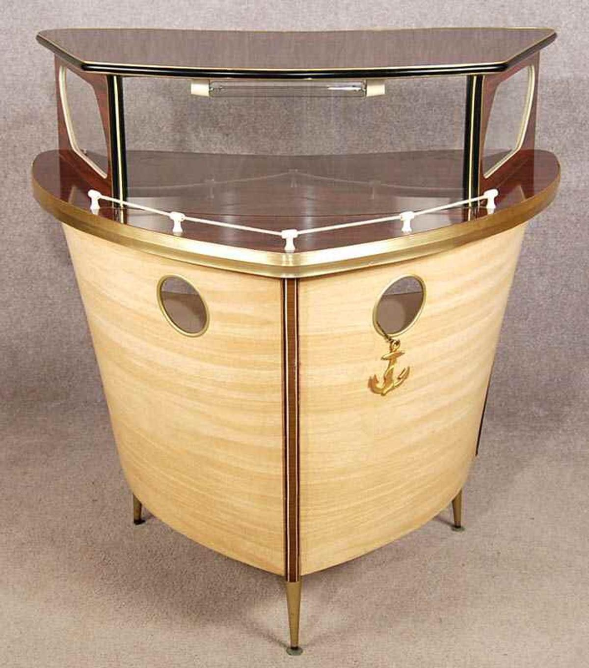 Vintage Retro Kitsch Home Bar Boat In Sa16 Port For 385 00 For Sale