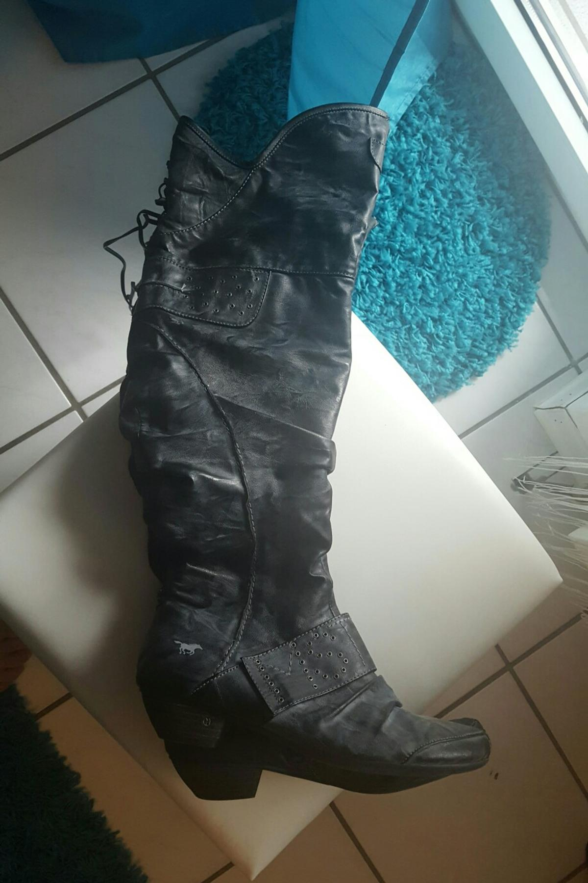 Overknee Mustang Stiefel in 67685 Weilerbach for €20.00 for