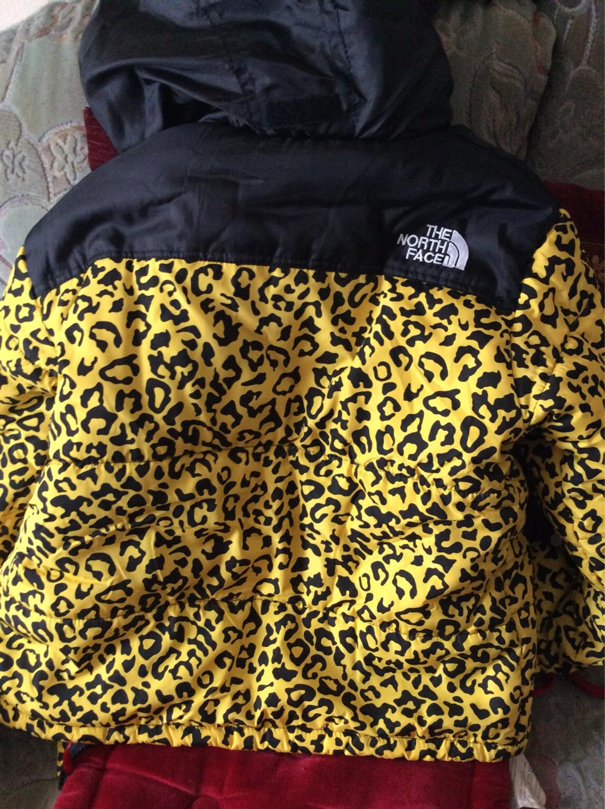 The North Face Supreme Leopard Print Jacket In LL55 Caernarfon For