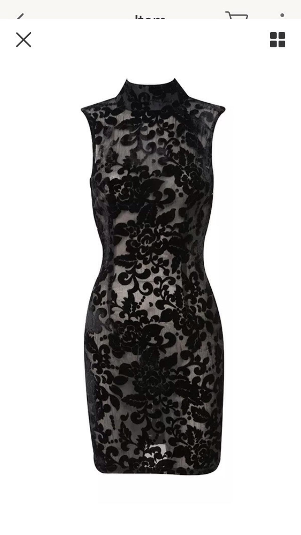 House Of Cb Celeb Boutique Lace Black Nereza In Se18 London