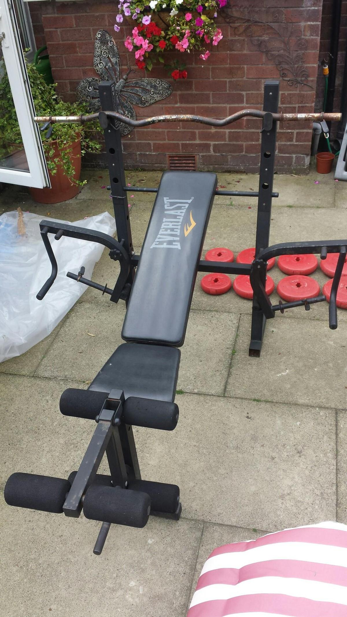 Amazing Everlast Ev220 Workout Weight Bench Pdpeps Interior Chair Design Pdpepsorg