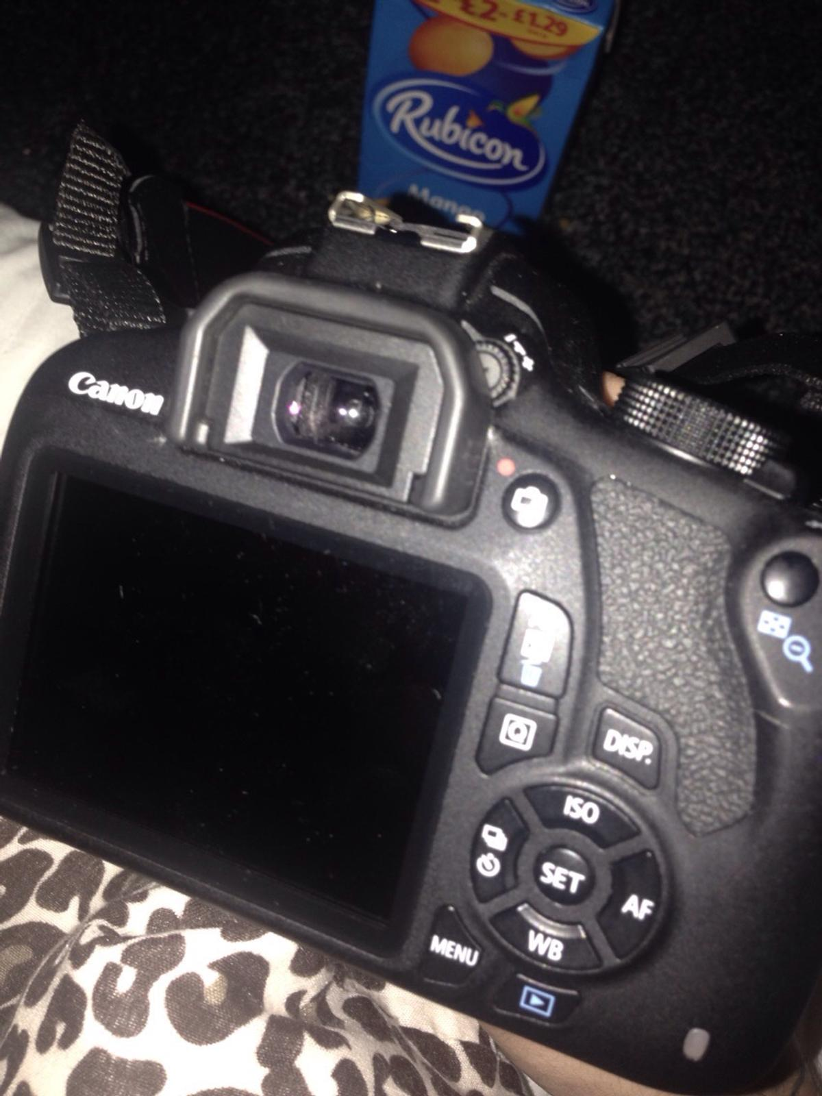 Canon 1200D DSLR COMES WITH BOX in M11 Manchester for