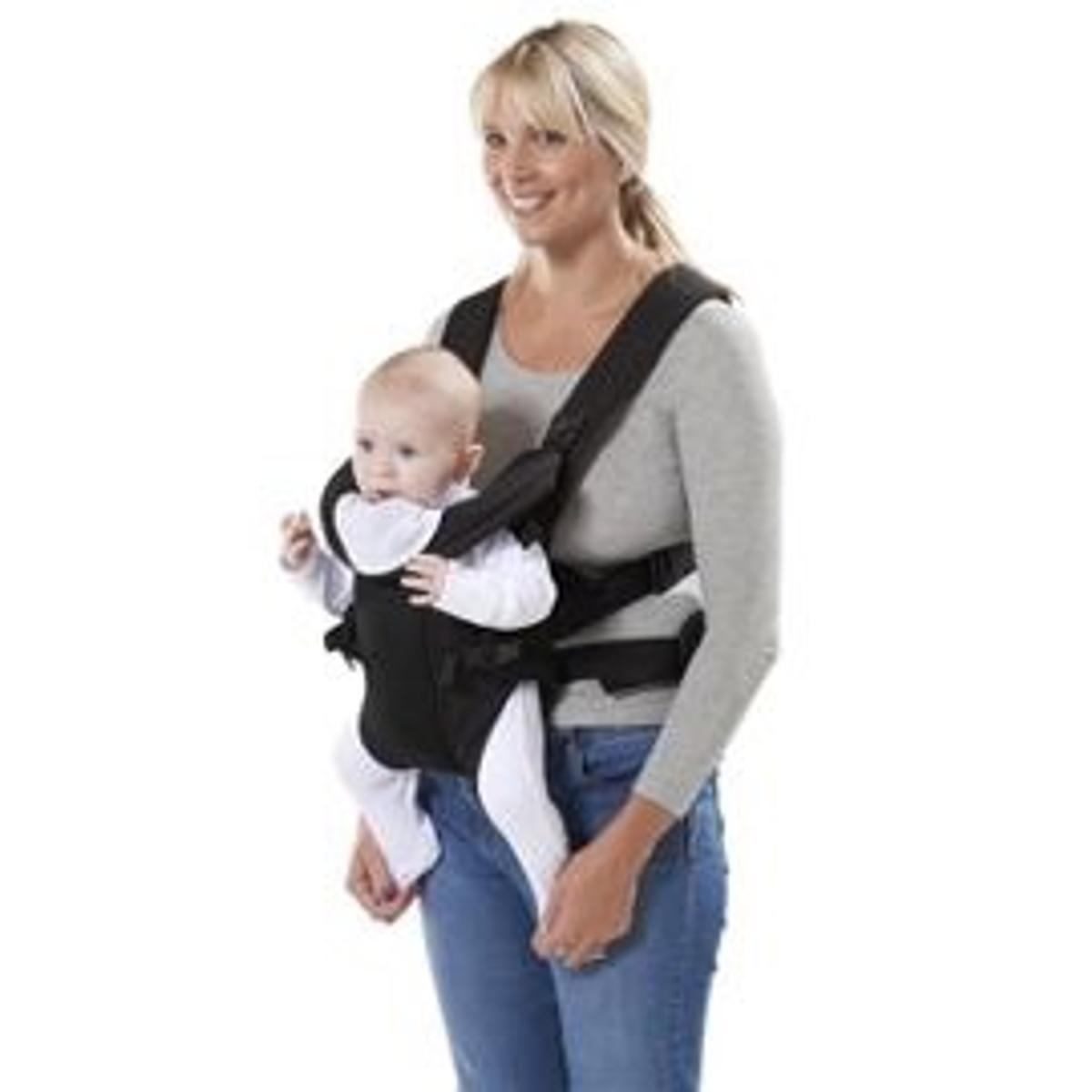 three position baby carrier
