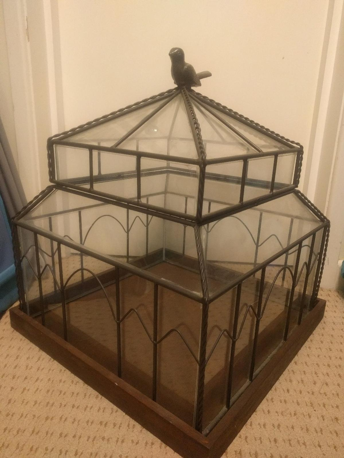 Huge Glass Wrought Iron Plant Terrarium In Ng17 Ashfield For