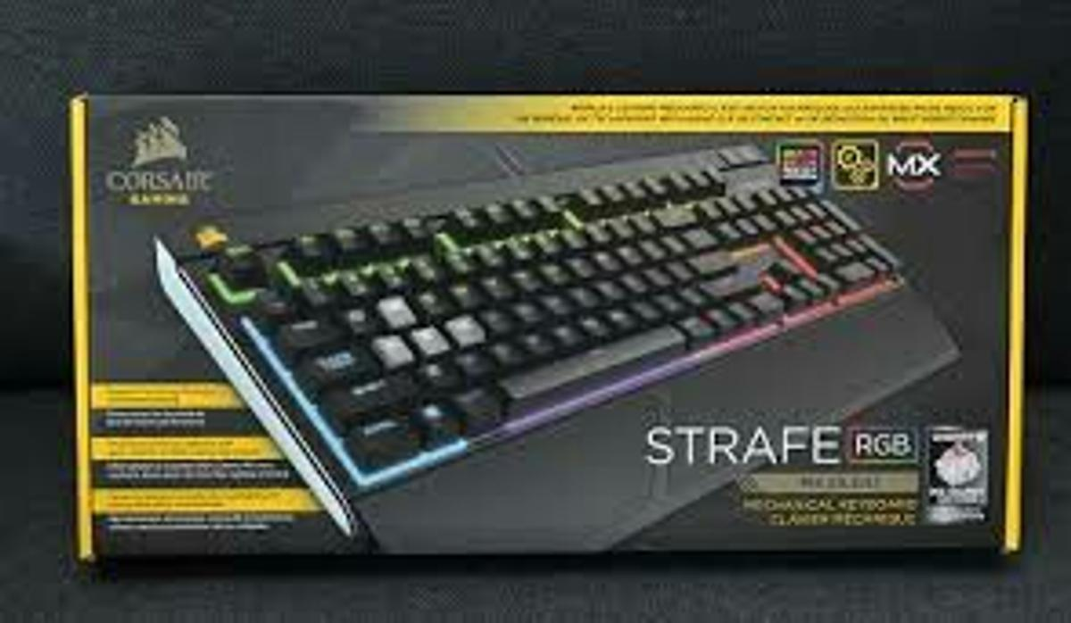 Corsair STRAFE RGB MX SILENT Keyboard
