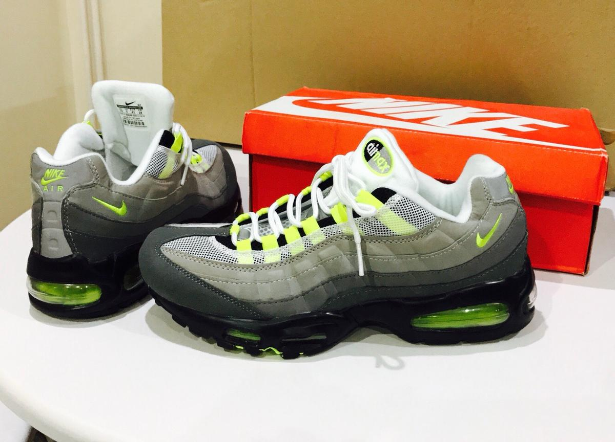 NIKE AIR MAX 95 OG black & grey size UK 9 & 11 AVAILABLE BRAND NEW